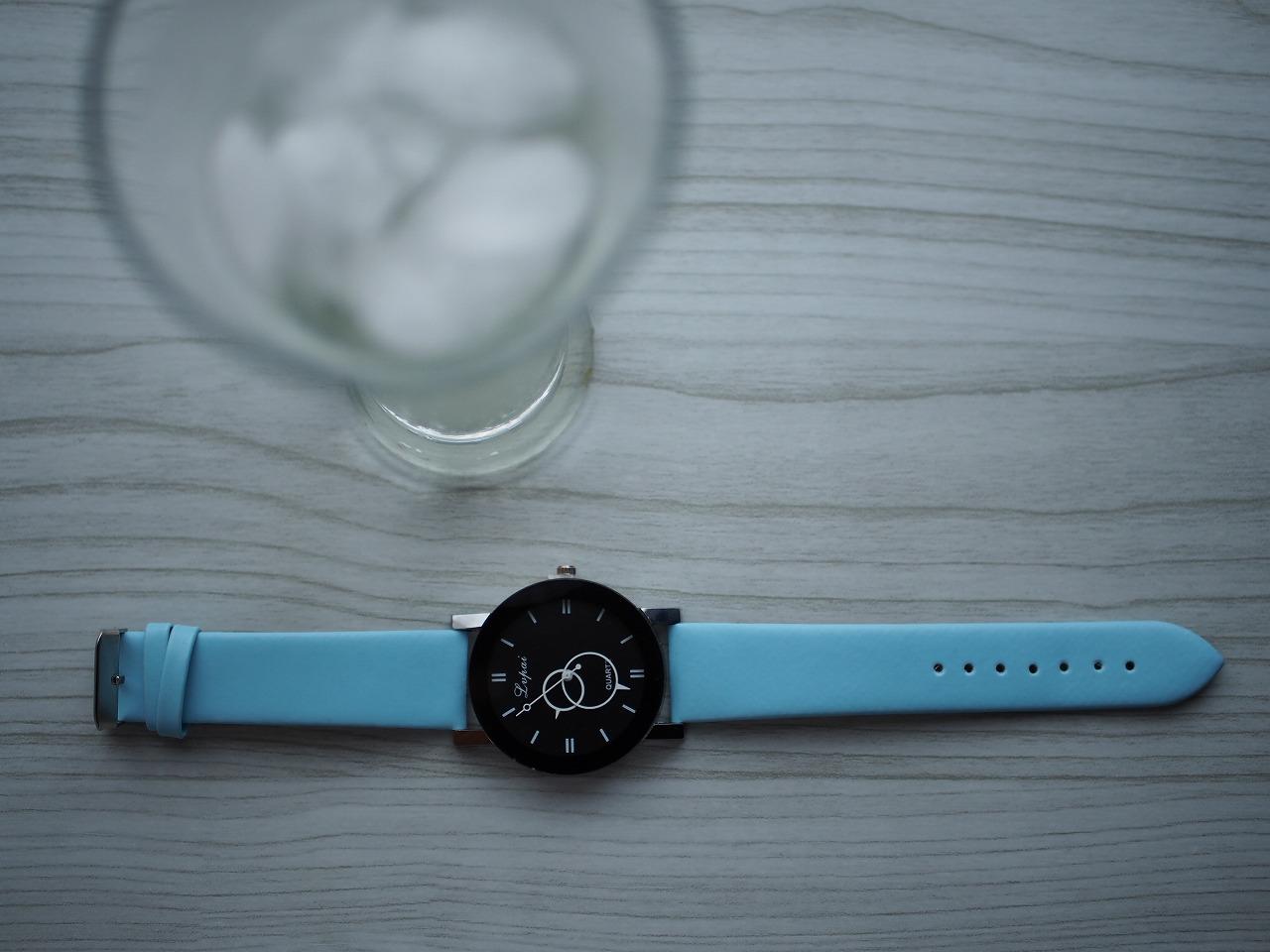 海外通販サイト【Wish】の無料ファッション時計がすごかった
