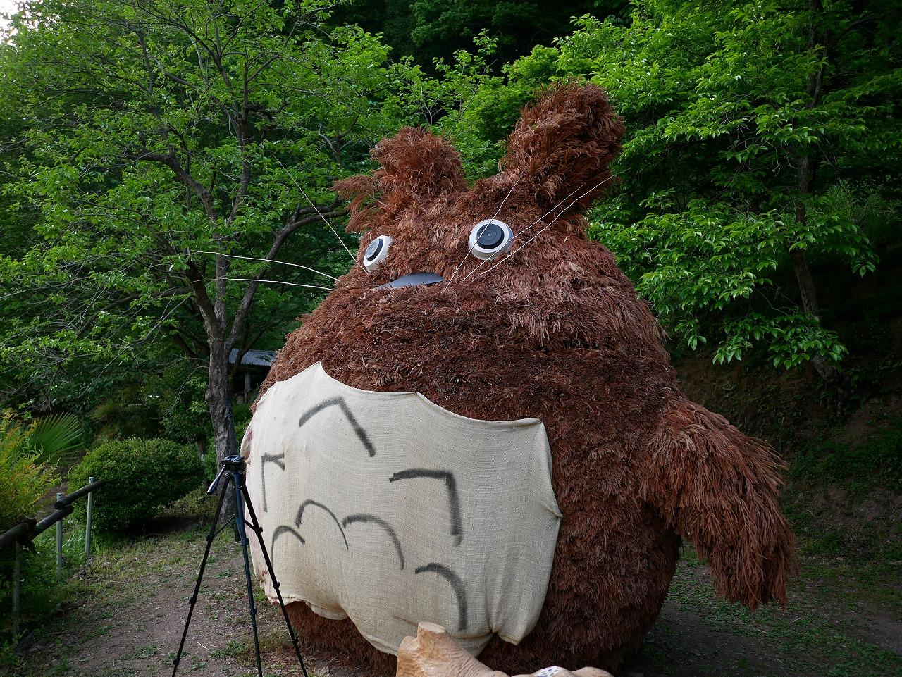 """【秩父ドライブ】""""館川ダム"""" と """"どんぐり山のトトロ"""" を見に行ってきました"""