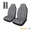 Amazon | Copap(コーパープ)カーシートカバー エスニック風柄3 前席シートカバー2個
